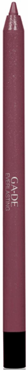 GA-DE Карандаш для губ Everlasting, тон № 96, 0,5 г101600041Плотная силиконовая текстура. Матовые и глянцевые оттенки. Устойчивая формула. Аргановое масло защищает кожу губ и обеспечивает мягкое и комфортное нанесение. Силиконовый карандаш корректирует контур губ. Он проводит чуть матовую линию, заполняет собой морщинки и не дает помаде или блеску растекаться. Хорошо подходят для использования летом и во время отпуска, так как не будет растекаться под воздействием солнца и жары.