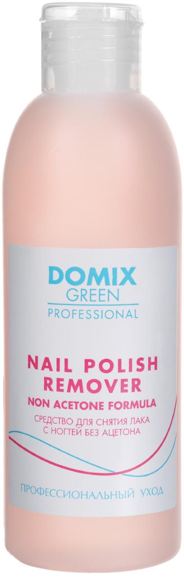 Domix Green Professional Средство для снятия лака с ногтей, без ацетона, 200 мл