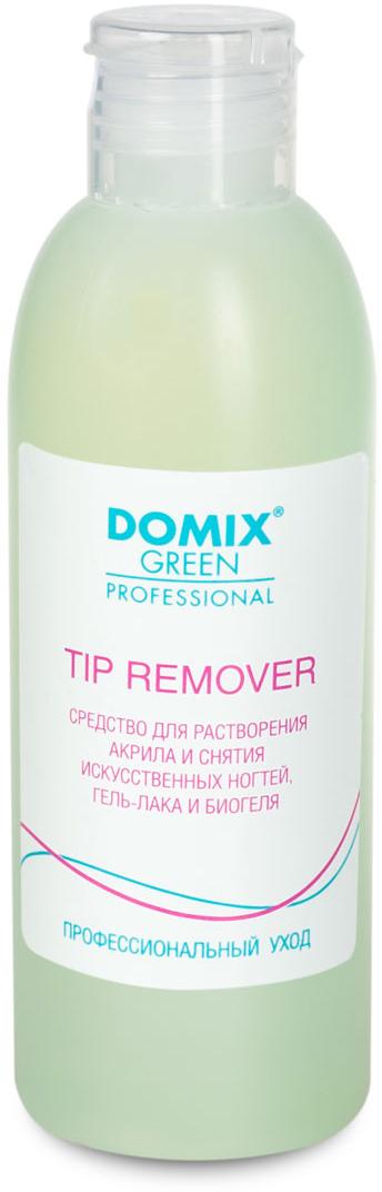 Domix Green Professional Средство для растворения акрила и снятия искусственных ногтей,гель-лака и биогеля, 200 мл616-103574Средство легко снимает лаковое покрытие с акриловых ногтей, не снимает блеск, не сушит кутикулу. Не содержит ацетон.Товар сертифицирован.