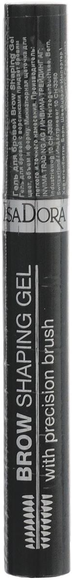 Isa Dora Гель для бровей Brow Shaping Gel, тон №64 Cashmere (Коричневый), 5,5 мл113764Новая миниатюрная щеточка высокой точности - для легкого и точного нанесения. Гелевая формула с волокнами - делает брови объемными и заполняет пустоты, прокрашивает волоски и кожу. Придает форму и фиксирует - идеальная форма в течение всего дня. Устойчивый.Товар сертифицирован.