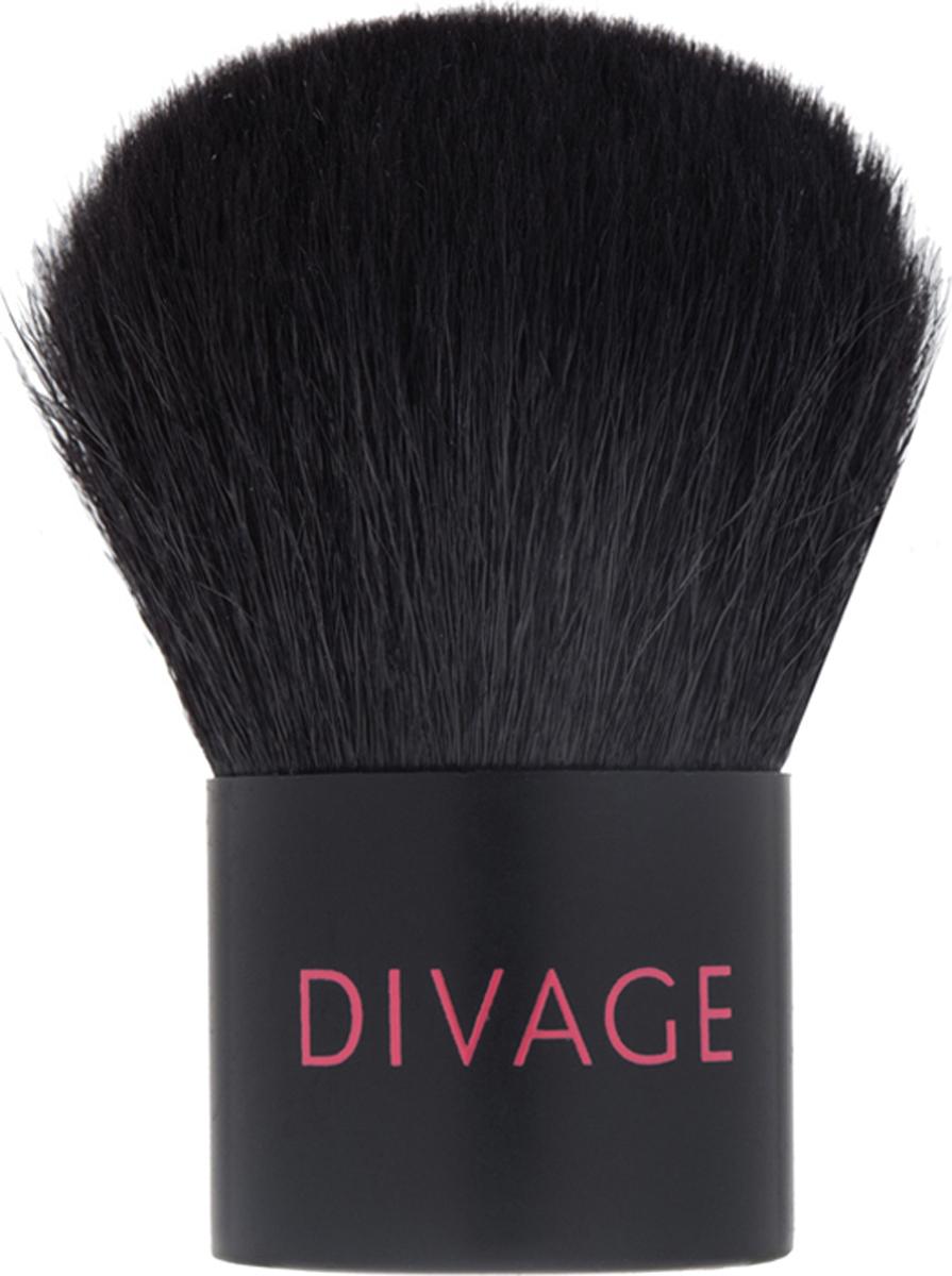 DIVAGE Кисти Professional Кисть кабуки из натуральной щетины divage кисти professional кисть для завершения макияжа из натуральной щетины