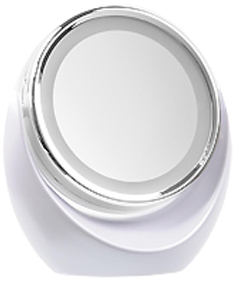 Gezatone Косметическое зеркало с 5х увеличением и подсветкой LM110 зеркало gezatone жезатон зеркало планшет косметологическое 1 3х с подсветкой lm1417 красное