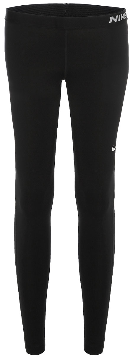 Тайтсы женские Nike Power Training Tight, цвет: черный. 830479-429. Размер S (42/44)830479-429Женские тайтсы для тренинга от Nike выполнены из эластичного полиэстера. Плотная посадка облегает ноги для надежной фиксации.Ткань Nike Power с технологией Dri-FIT отводит влагу и обеспечивает комфорт.Завышенный сзади пояс для дополнительной защиты.Плоские швы не натирают кожу.