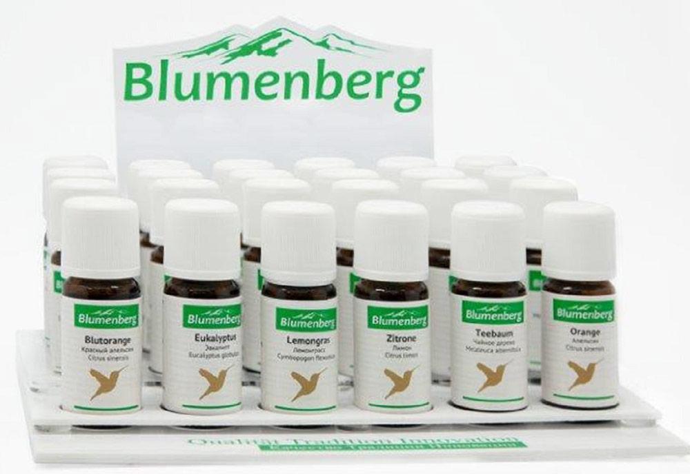 Набор эфирных масел Blumenberg, №18 , 6 тестеров эфирное масло тулси 100
