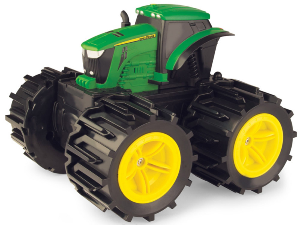 Tomy John Deere Трактор Mega Monster Wheels игрушка tomy john deere mega monster wheels т11312