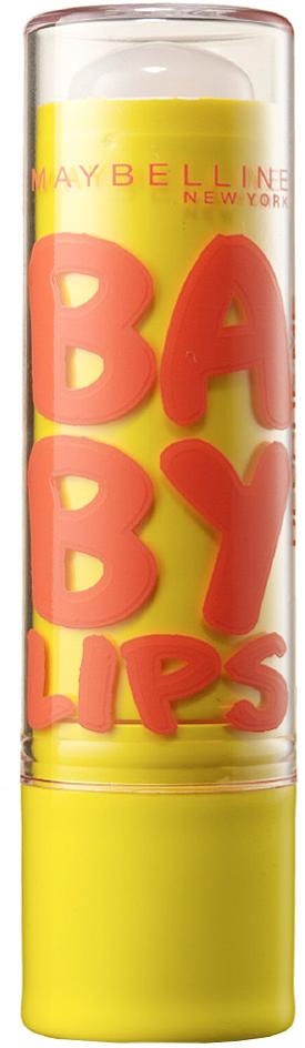 """Maybelline New York Бальзам для губ """"Baby Lips, Бережный уход"""", для чувствительной кожи губ, восстанавливающий и увлажняющий, бесцветный с запахом, 1,78 мл"""
