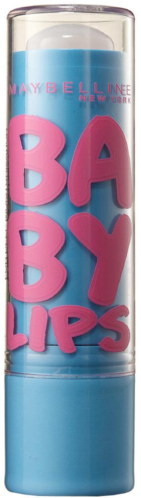 """Maybelline New York Бальзам для губ """"Baby Lips, Интенсивный уход"""", восстанавливающий и увлажняющий, от обветривания и трещин, бесцветный с запахом, 1,78 мл"""