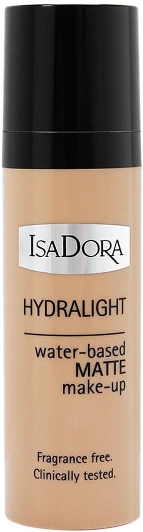 Isa Dora Тональный крем Hydralight №61, на водной основе, 30 мл214261На водной основе - не содержит масел Ультра легкий - полупрозрачный, сливается с кожей матовый результат - без ощущения пудровости. Интенсивный увлажняющий комплекс- предотвращает потерю влаги и дает ощущение свежести в течение всего дня. Для всех типов кожи (включая комбинированную и жирную) без отдушек клинически тестировано. Товар сертифицирован.