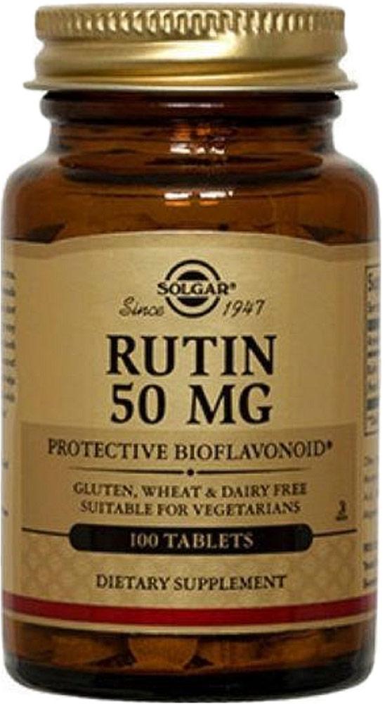 Солгар Рутин таблетки 50 мг №100223553Сфера применения: ВитаминологияМакро- и микроэлементы