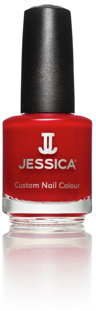 """Jessica Лак для ногтей, оттенок 521 """"Rosso Passioni"""", 14,8 мл"""