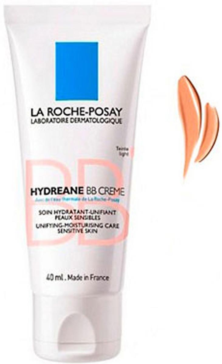 La Roche-Posay ВВ крем Hydreane Натурально-бежевый тон SPF20, 40 млM5454900ВВ крем для для всех типов чувствительной кожи на основе Термальной воды La Roche-Posay. Это ВВ крем, который не только выравнивает цветлица, но и ухаживает за кожей, одновременно защищая ее от воздействия окружающей среды. Сияющий, ровный и абсолютно естественный цвет лица получается за счет миинеральных микро-пигментов, которые буквально тают на коже. Врезультате чувствительная кожа защищена, успокоена и увлажнена. Приятная нежирная текстура крема делает кожу мягкой и эластичной.Некомедогенно. Гипоаллергенно. Протестировано под контролем дерматологов.Рекомендуется наносить на очищенную кожу лица в качестве ежедневного увлажняющего ухода или основы под макияж. Избегать области вокругглаз. Только для наружного применения.