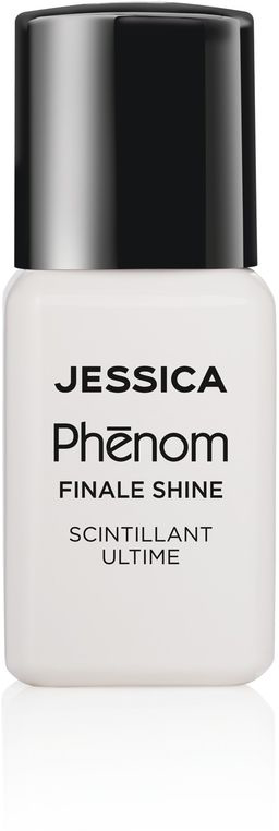 Jessica Phenom Закрепляющее покрытие Finale Shine Topcoat 15 мл jessica лак для ногтей hotter than hibiscus jessica custom nail colour upc 714 14 8 мл