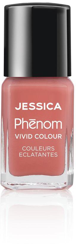 Jessica Phenom Лак для ногтей Vivid Colour Rare Rose № 06, 15 млPHEN-006Система покрытия ногтей Phenom обеспечивает быстрое высыхание, обладает стойкостью до 10 дней и имеет блеск гель-лака. Не нуждается в использовании LED/UV ламп. Легко удаляется, как обычный лак для ногтей. Покрытия JESSICA Phenom являются 5-Free и не содержат формальдегид, формальдегидных смол, толуола, дибутилфталат и камфору.Как наносить: Система Phenom – это великолепный маникюр за 1-2-3 шага:ШАГ 1: Базовое покрытие – нанесите в два слоя базовое средство JESSICA, подходящее Вашему типу ногтевой пластины. ШАГ 2: Цвет – нанесите в два слоя любой оттенок Phenom Vivid Colour. ШАГ 3: Закрепление – нанесите в один слой Phenom Finale Shine Topcoat для получения блеска гель-лака.Как ухаживать за ногтями: советы эксперта. Статья OZON Гид