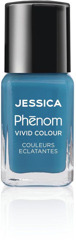 Jessica Phenom Лак для ногтей Vivid Colour Fountain Bleu № 08, 15 млPHEN-008Система покрытия ногтей Phenom обеспечивает быстрое высыхание, обладает стойкостью до 10 дней и имеет блеск гель-лака. Не нуждается в использовании LED/UV ламп. Легко удаляется, как обычный лак для ногтей. Покрытия JESSICA Phenom являются 5-Free и не содержат формальдегид, формальдегидных смол, толуола, дибутилфталат и камфору.Как наносить: Система Phenom – это великолепный маникюр за 1-2-3 шага:ШАГ 1: Базовое покрытие – нанесите в два слоя базовое средство JESSICA, подходящее Вашему типу ногтевой пластины. ШАГ 2: Цвет – нанесите в два слоя любой оттенок Phenom Vivid Colour. ШАГ 3: Закрепление – нанесите в один слой Phenom Finale Shine Topcoat для получения блеска гель-лака.Как ухаживать за ногтями: советы эксперта. Статья OZON Гид