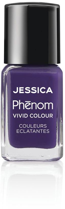 Jessica Phenom Лак для ногтей Vivid Colour Grape Gatsby № 12, 15 млPHEN-012Система покрытия ногтей Phenom обеспечивает быстрое высыхание, обладает стойкостью до 10 дней и имеет блеск гель-лака. Не нуждается в использовании LED/UV ламп. Легко удаляется, как обычный лак для ногтей. Покрытия JESSICA Phenom являются 5-Free и не содержат формальдегид, формальдегидных смол, толуола, дибутилфталат и камфору.Как наносить: Система Phenom – это великолепный маникюр за 1-2-3 шага:ШАГ 1: Базовое покрытие – нанесите в два слоя базовое средство JESSICA, подходящее Вашему типу ногтевой пластины. ШАГ 2: Цвет – нанесите в два слоя любой оттенок Phenom Vivid Colour. ШАГ 3: Закрепление – нанесите в один слой Phenom Finale Shine Topcoat для получения блеска гель-лака.Как ухаживать за ногтями: советы эксперта. Статья OZON Гид