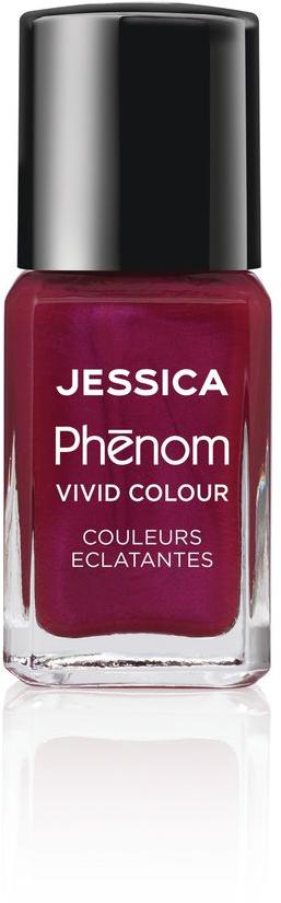 Jessica Phenom Лак для ногтей Vivid Colour The Royals № 17, 15 млPV0210Система покрытия ногтей Phenom обеспечивает быстрое высыхание, обладает стойкостью до 10 дней и имеет блеск гель-лака. Не нуждается в использовании LED/UV ламп. Легко удаляется, как обычный лак для ногтей. Покрытия JESSICA Phenom являются 5-Free и не содержат формальдегид, формальдегидных смол, толуола, дибутилфталат и камфору.Как наносить: Система Phenom – это великолепный маникюр за 1-2-3 шага:ШАГ 1: Базовое покрытие – нанесите в два слоя базовое средство JESSICA, подходящее Вашему типу ногтевой пластины. ШАГ 2: Цвет – нанесите в два слоя любой оттенок Phenom Vivid Colour. ШАГ 3: Закрепление – нанесите в один слой Phenom Finale Shine Topcoat для получения блеска гель-лака.Как ухаживать за ногтями: советы эксперта. Статья OZON Гид