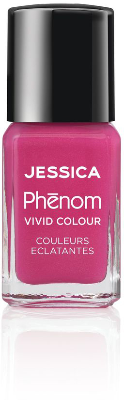 Jessica Phenom Лак для ногтей Vivid Colour Barbie Pink № 20, 15 мл
