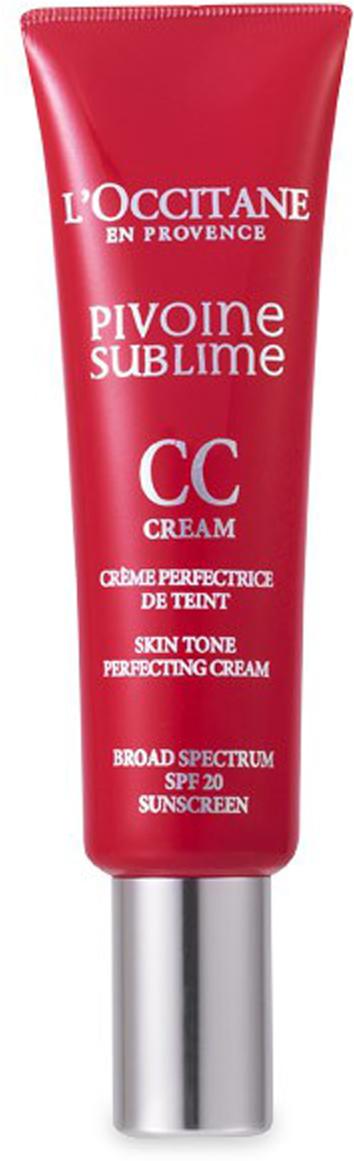 LOccitane CC-крем Совершенный пион 30 мл, бежевыйXC-07-0060Крем с бархатистой текстурой содержит комплекс Совершенный пион, CC-пигменты и перламутровые частицы. Его можно использовать как разглаживающую базу под макияж с эффектом сияния или как отдельное средство для создания естественного макияжа. При контакте с кожей шелковистая текстура крема преобразуется, придавая ей естественный оттенок. Цвет лица выглядит ровным и сияющим. Несовершенства кожи становятся менее заметными.