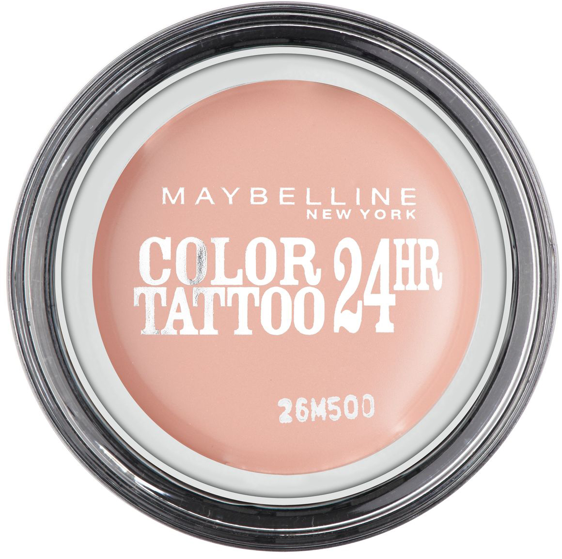 Maybelline New York Тени для век Color Tattoo, оттенок 91, Розовый Зефир, 4 млB2539101Технология тату-пигментов создает яркий, супернасыщенный цвет. Крем-гелевая текстура обеспечивает ультралегкое нанесение и стойкость на 24 часа.