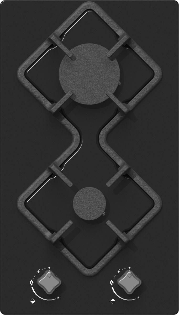 Ricci RGN-KA2001BL, Black варочная панель встраиваемая