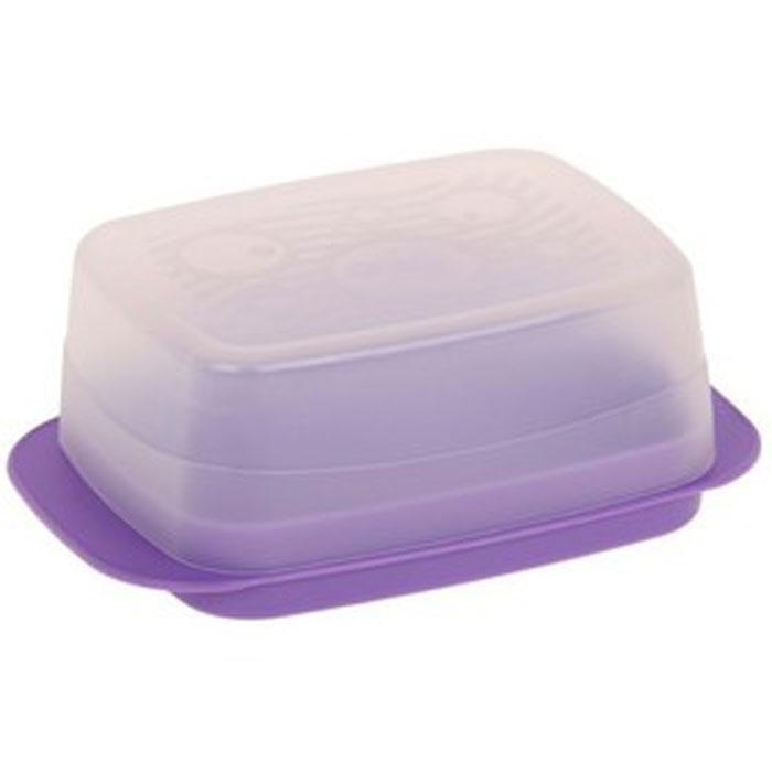Масленка Мартика Медея, цвет: сиреневый, 16 x 10,5 x 6 смС63_сиреневыйМасленка Мартика Медея используется для хранения и подачи сливочного масла. Плотно закрывающаяся крышка позволяет продукту дольше сохранять свежесть и вкус, а также предотвращает впитывание маслом посторонних запахов. Масленки Мартика Медея рассчитаны на хранение стандартного двухсотграммового брикета масла.