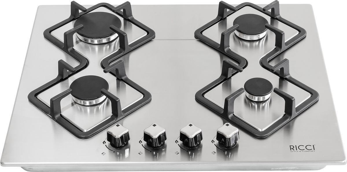 Ricci RGN-KA4009IX, Silver Greyварочная панель встраиваемая Ricci