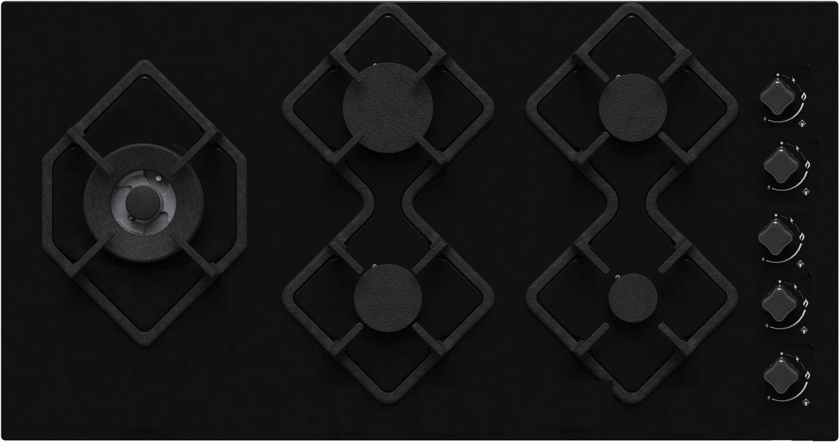 Ricci RGN-КА5041BL, Black варочная панель встраиваемая