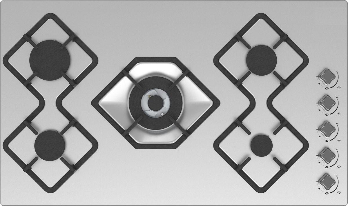 Ricci RGN-КА5041IX, Silver Grey варочная панель встраиваемая37 RGN-КА5041IX