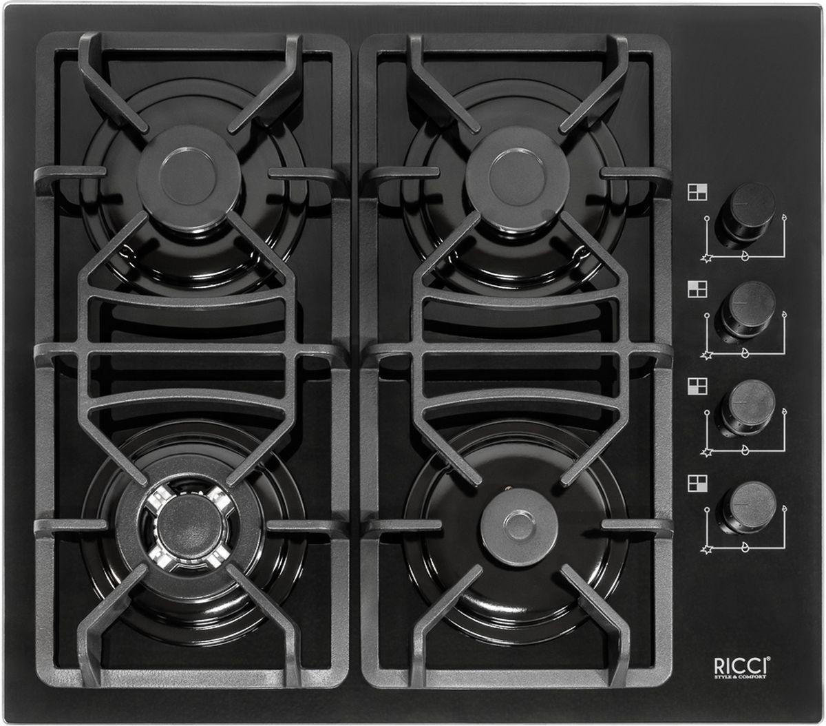 Ricci RGN-670BL, Black варочная панель встраиваемая