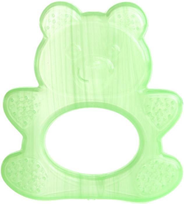 Пластмастер Прорезыватель охлаждающий Мишка цвет светло-зеленый