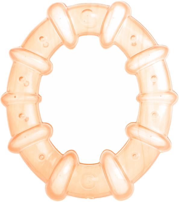 Пластмастер Прорезыватель охлаждающий Кольцо цвет светло-оранжевый