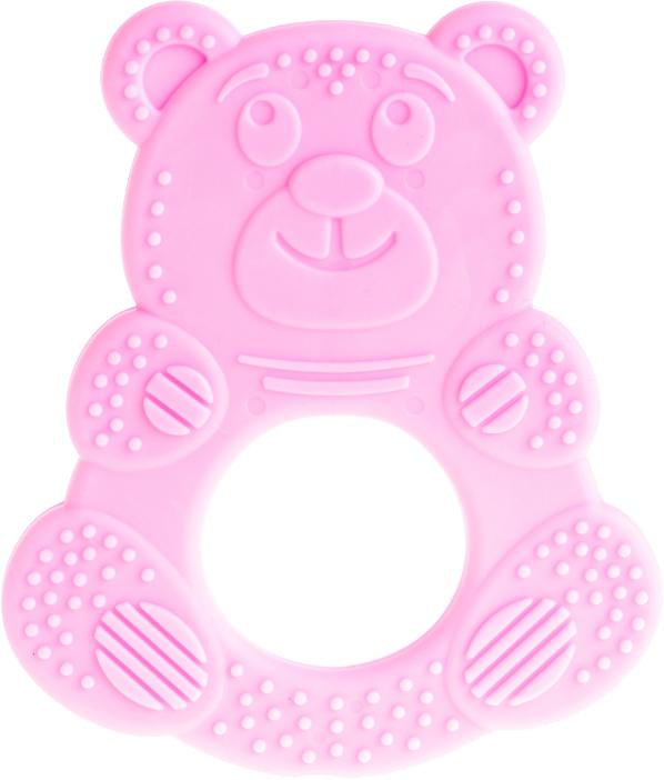 Пластмастер Прорезыватель Миша цвет розовый пластмастер прорезыватель миша цвет желтый
