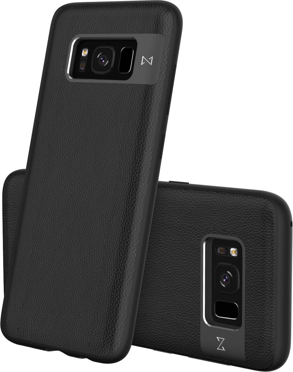 Matchnine Tailor чехол для Samsung Galaxy S8, BlackENV018Чехол Matchnine Tailor - стильный аксессуар, обеспечивающий надежную защиту Samsung Galaxy S8 от ударов и других воздействий. Его задняя панель изготовлена из жесткого поликарбоната, стилизованного под кожу, а бампер - из эластичного полиуретана. Кроме того, он украшен металлической накладкой, обрамляющей камеру.Мягкая рамка позволяет быстро надевать клип-кейс. Она слегка выступает над экраном, защищая его от контактов с твердыми поверхностями.Несмотря на отличные защитные свойства, чехол практически не увеличивает размеры устройства. С ним мобильный девайс можно носить в кармане или в специальном отделении сумки. Вырезы в клип-кейсе предоставляют доступ к важнейшим деталям смартфона, включая камеры, кнопки и разъемы.