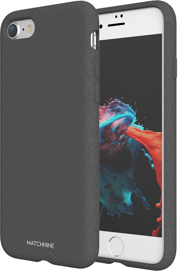 Matchnine Jello Pebble чехол для iPhone 7/8, Dark GrayENV045Чехол Matchnine Jello Pebble состоит из слоев эластичного полиуретана и жесткого пластика. Такая конструкция позволяет защитить iPhone 7/8 от ударов и других воздействий, сохранив его превосходный внешний вид. Мягкая рамка помогает быстро надевать клип-кейс. Кроме того, она слегка выступает над экраном, не допуская его соприкосновения с твердыми поверхностями. Несмотря на отличные защитные свойства, чехол практически не увеличивает размеры устройства. С ним смартфон можно носить в кармане и в специальном отделении сумки. Чехол предоставляет доступ ко всем важным деталям мобильного девайса. В нем предусмотрены вырезы для камер, кнопок и разъемов.