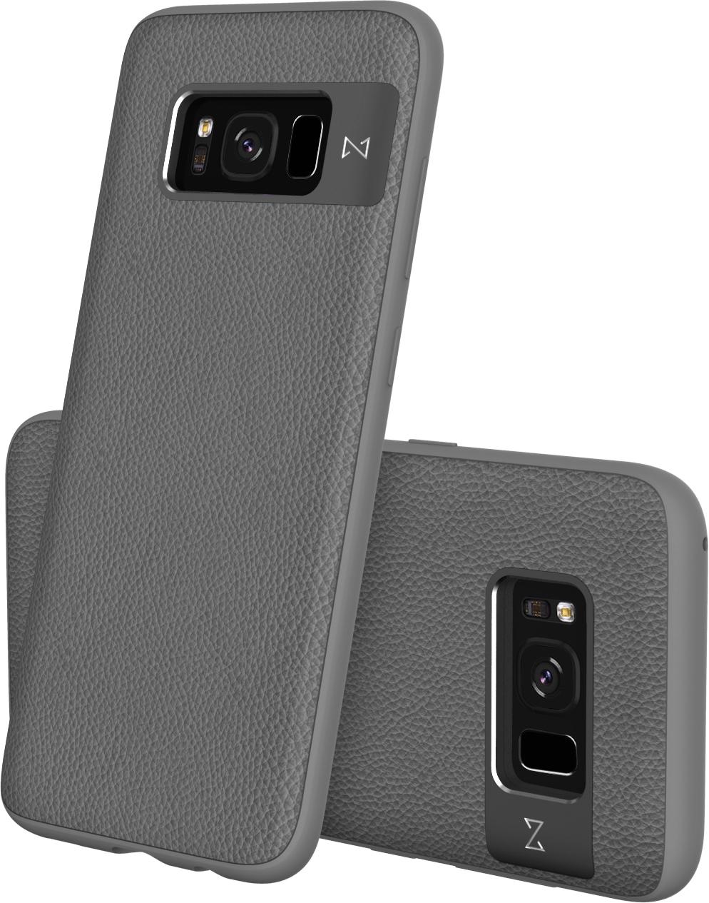 Matchnine Tailor чехол для Samsung Galaxy S8 Plus, Middle GrayENV055Чехол Matchnine Tailor - стильный аксессуар, обеспечивающий надежную защиту Samsung Galaxy S8 Plus от ударов и других воздействий. Его задняя панель изготовлена из жесткого поликарбоната, стилизованного под кожу, а бампер - из эластичного полиуретана. Кроме того, он украшен металлической накладкой, обрамляющей камеру.Мягкая рамка позволяет быстро надевать клип-кейс. Она слегка выступает над экраном, защищая его от контактов с твердыми поверхностями.Несмотря на отличные защитные свойства, чехол практически не увеличивает размеры устройства. С ним мобильный девайс можно носить в кармане или в специальном отделении сумки. Вырезы в клип-кейсе предоставляют доступ к важнейшим деталям смартфона, включая камеры, кнопки и разъемы.