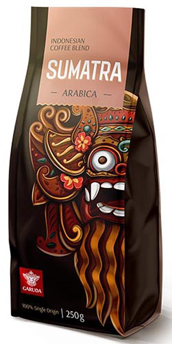 Фото Garuda Sumatra кофе в зернах, 250 г