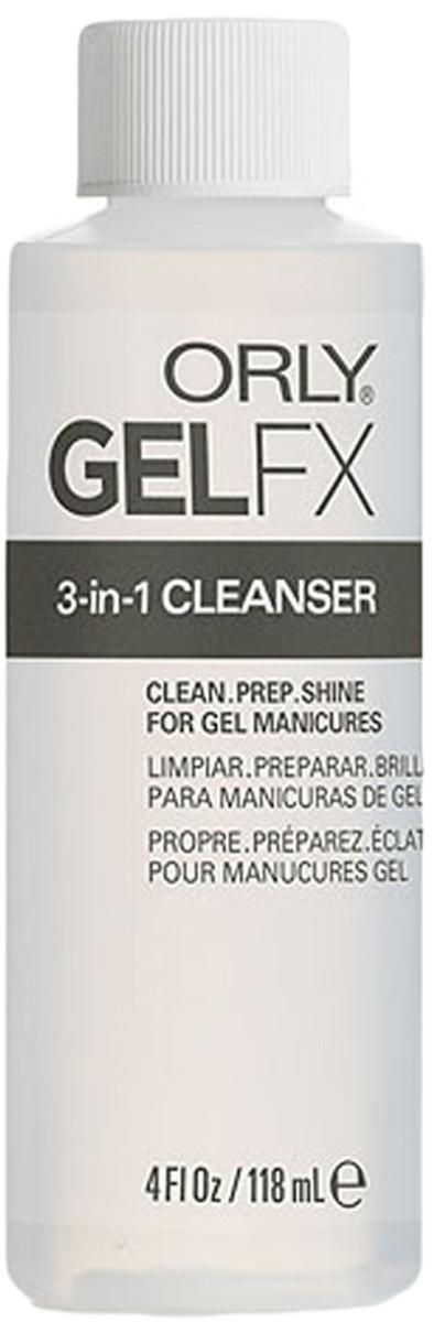 Orly Обезжириватель Gel FX 3-in-1, 118 мл лаки для ногтей с эффектами orly flash glam fx collection 468 цвет 468 rockets red glare variant hex name a4292b