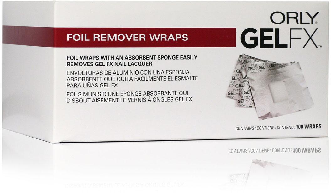 Orly Спонжи для удаления гель-лака Gel FX, 100 шт33100Спонжи Gel FX представляют собой фольгу с зафиксированным спонжем для легкого удаления гель-маникюра Gel FX с ногтей. Это позволяет избежать контакта жидкости с кожей пальца при растворении геля. Уникальность этих спонжей заключается в том, что они отлично создают парниковый эффект, что способствует лучшему размягчению гель-маникюра Gel FX.Товар сертифицирован.