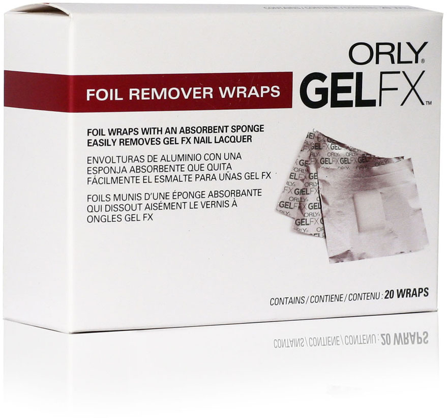 Orly Спонжи для удаления гель-лака Gel FX, 20 шт orly гель лак для ногтей gel fx 925 la la land big city dreams gel fx