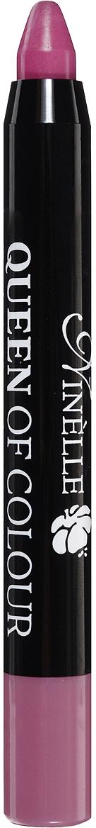 Ninelle Губная помада Queen of Colour, тон №102, 2,5 г735N10444Эксклюзивная формула с витамином Е и маслом жожоба дарит губам бесконечное увлажнение и питание, шелковистые структурообразующие цветовые пигменты придают легкое нанесение и насыщенный, стойкий цвет с первого прикосновения.Автоматический корпус добавляет легкости в использовании в любое время в любом месте!Товар сертифицирован.
