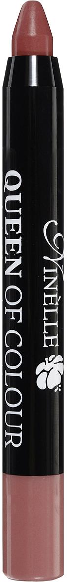 Ninelle Губная помада Queen of Colour, тон №103, 2,5 г736N10445Эксклюзивная формула с витамином Е и маслом жожоба дарит губам бесконечное увлажнение и питание, шелковистые структурообразующие цветовые пигменты придают легкое нанесение и насыщенный, стойкий цвет с первого прикосновения.Автоматический корпус добавляет легкости в использовании в любое время в любом месте!Товар сертифицирован.
