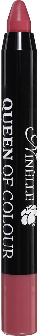 Ninelle Губная помада Queen of Colour, тон №104, 2,5 г737N10446Эксклюзивная формула с витамином Е и маслом жожоба дарит губам бесконечное увлажнение и питание, шелковистые структурообразующие цветовые пигменты придают легкое нанесение и насыщенный, стойкий цвет с первого прикосновения.Автоматический корпус добавляет легкости в использовании в любое время в любом месте!Товар сертифицирован.
