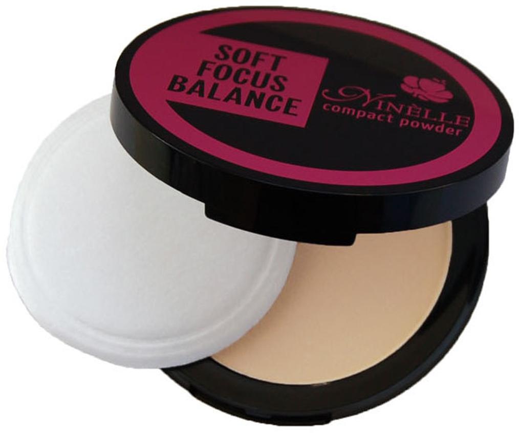 Ninelle Компактная пудра Soft Focus Balance, тон №11, 9 г851N10560Профессиональный эффект макияж без макияжа, растушевывает оптические неровности и недостатки кожи.Все оттенки пудры матовые. В комплекте зеркало и пуховка для нанесения. Товар сертифицирован.