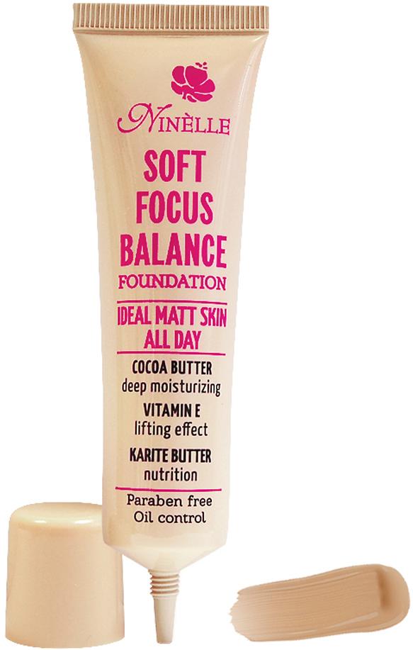 Ninelle Тональный крем Soft Focus Balance, тон №04, 30 мл ninelle румяна бронзатор двойные soft focus balance тон 22