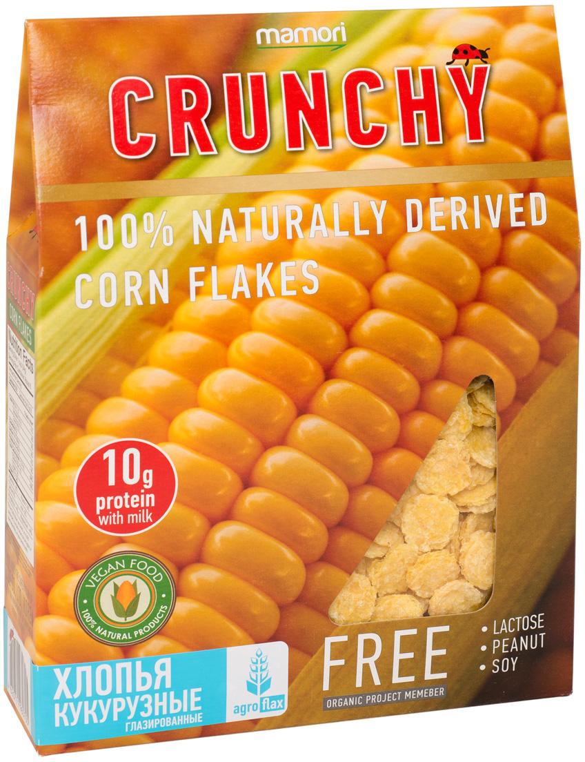 Mamori Crunchy кукурузные хлопья глазированные, 200 г