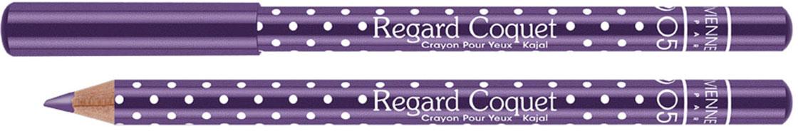 Vivienne Sabo Карандаш-каял для глаз Regard Сoquet, тон №05 (Фиолетовый), 0,78 г111803Карандаши-каялы Regard Coquet из коллекции могут служить прекрасным дополнением макияжу коллекции, а так же выступить соло. Великолепная бархатная текстура карандаша позволяет создать идеальную линию, как по ресничному контуру, так и по внутреннему краю века. Корпус карандаша одет в классический принт Vivienne Sabo - милый кокетливый горошек, что добавляет коллекции лёгкости и элегантности. Тона – светлые и темные – помогут правильно расставить акценты в выбранном образе.