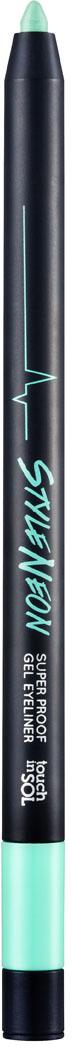 Touch in SOL Карандаш для глаз Style Neon, №3 Eclectic Electric8809296780786Что это? – Супер стойкий гелиевый карандаш насыщенного цвета, с водостойкой и не смазывающейся формулой. Как он действует? – Разнообразие неоновых оттенков в коллекции StyleNeon'sвыводит гелиевые карандаши на совершенно новый уровень. Благодаря своей текстуре карандаш скользит, оставляя безупречно ровную и четкую линию, которая остается яркой в течение всего дня. Создайте образ, который подчеркнет ваши глаза при помощи неоновых оттенков или, совместив их с базовым черным цветом, что придаст вашему взгляду еще более дерзкий вид. Чего нет в составе? НЕ СОДЕРЖИТ парабеновЧто еще нужно знать? Этот продукт веганский, гипоаллергенный, не содержит глютен, не тестируется на животных