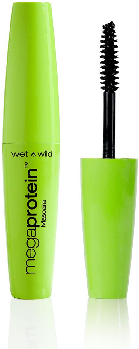 Wet n Wild Тушь Для Ресниц Mega Protein Mascara very black 8 мл тушь для ресниц isadora hypo allergenic mascara 02