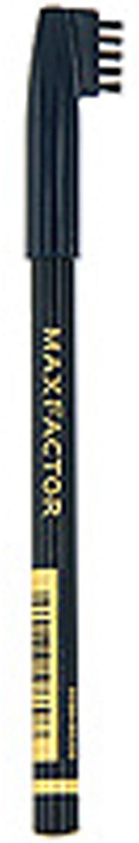 Карандаш для бровей Max Factor, №001, цвет: черный