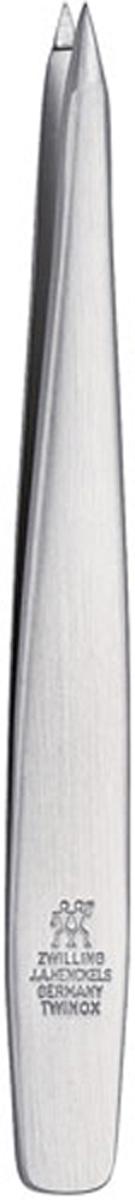 Zwilling Пинцет Twinox, остроконечный. 78147-10178147-101Пинцет Zwilling Twinox предназначен для удаления заноз, маленьких волосков. Изготовлен из высококачественной нержавеющей стали.Уход: предохранять от падения на пол. Хранить в недоступном для детей месте. Характеристики: Материал: нержавеющая сталь. Длина пинцета: 9 см. Размер упаковки (ДхШхВ): 4,5 см х 1,2 см х 14,5 см. Производитель: Германия. Артикул:78147-101. Товар сертифицирован.